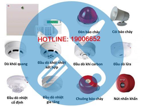 Dịch vụ sửa chữa hệ thống báo cháy lưu động tại Hà Nội